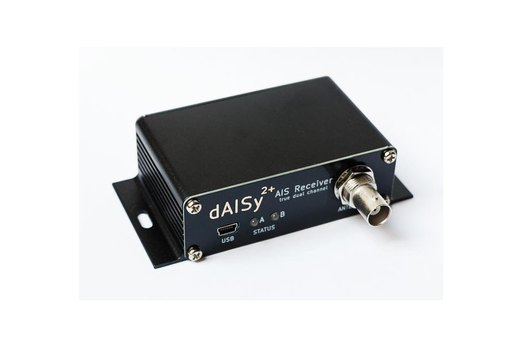 dAISy 2+ dual-channel AIS Receiver with NMEA 0183 1