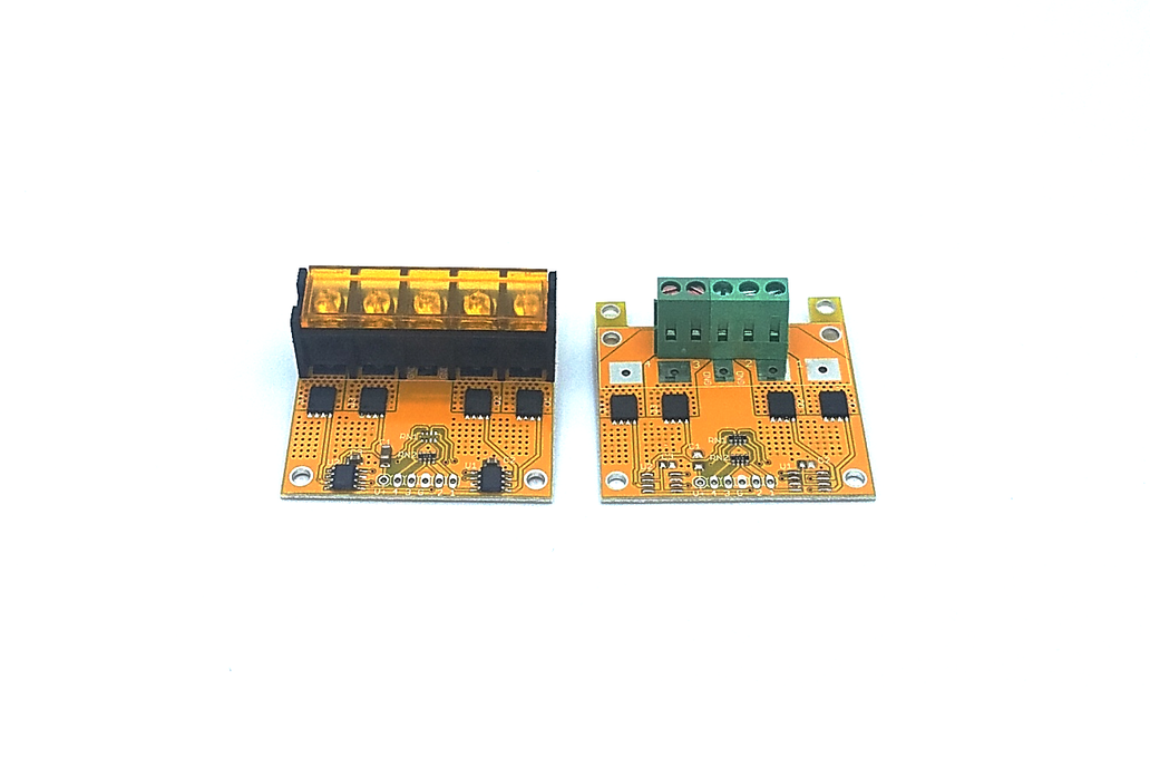4-Channel logic level MOSFET driver 100A up to100V 1