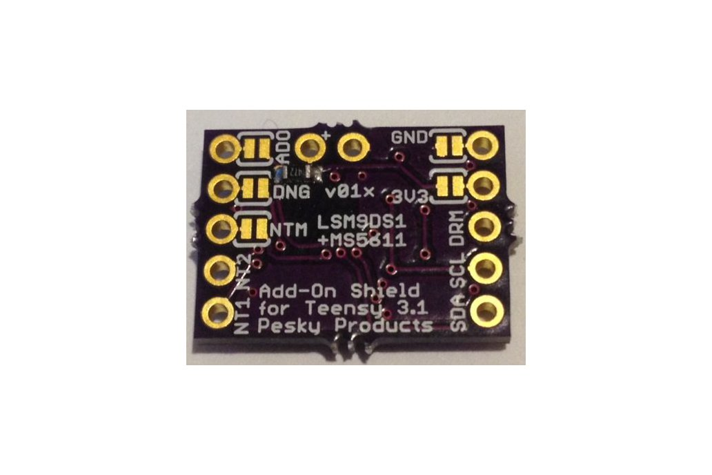 LSM9DS1+MS5611 breakout board 2