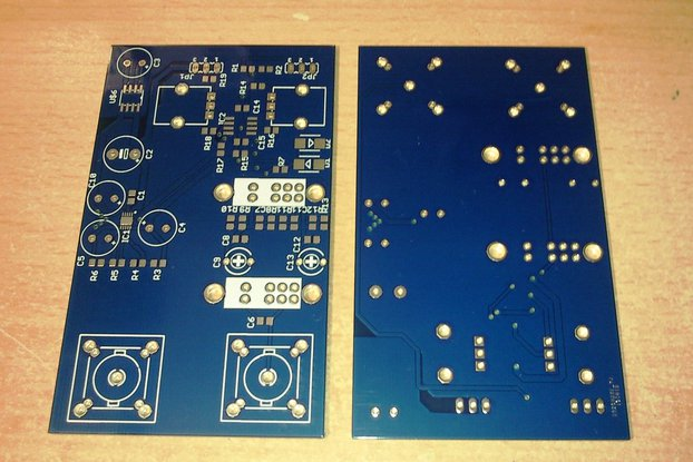 Bare PCB for Analog Front End for Oscilloscope