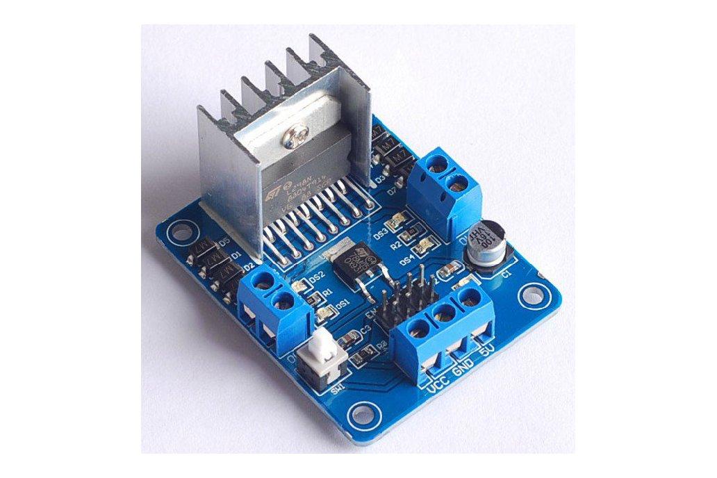 L298N stepper motor driver microcontroller 1