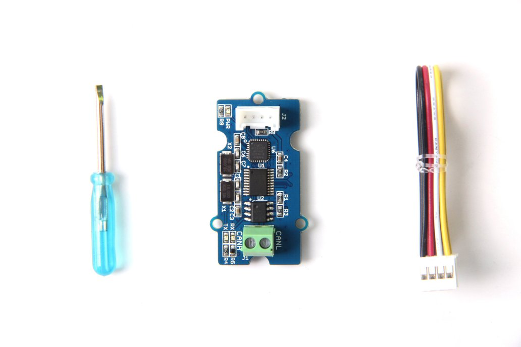 Serial CAN Bus module based on MCP2551 and MCP2 4
