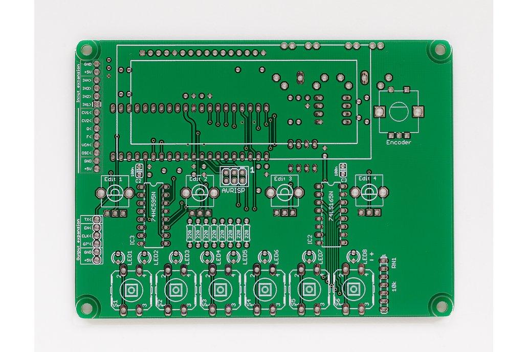 Shruthi Digital Control Board PCB 1