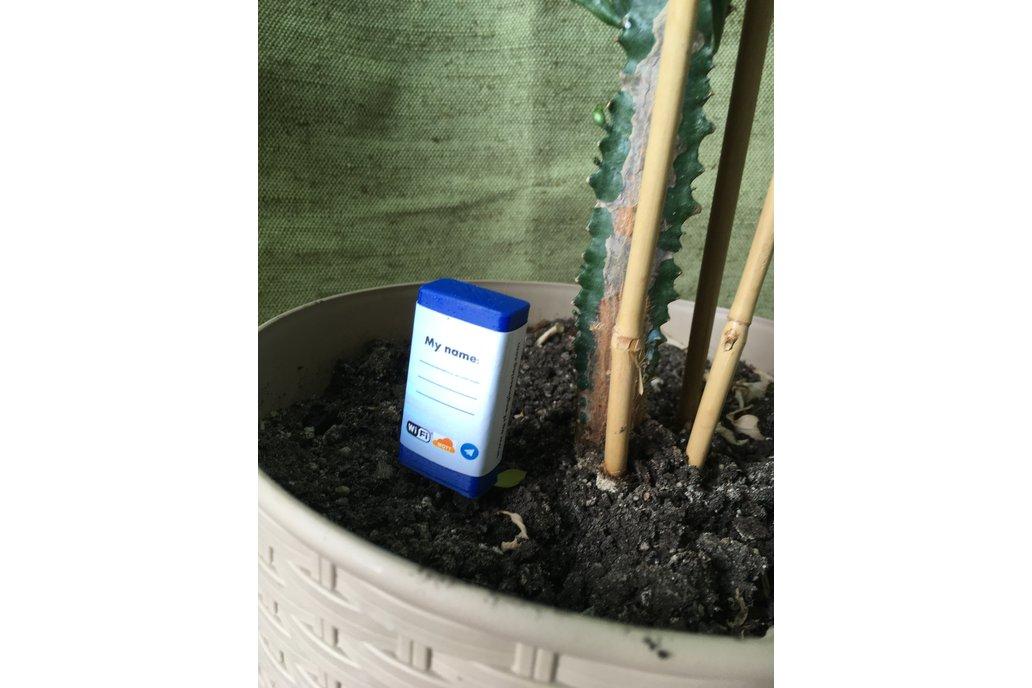 Smart Plant Moisture Sensor V1.0 with Telegram SMS 1