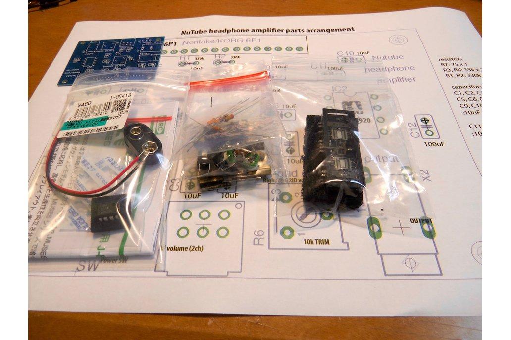 Nutube amp kit, a vacuum tube in new century REV2 4