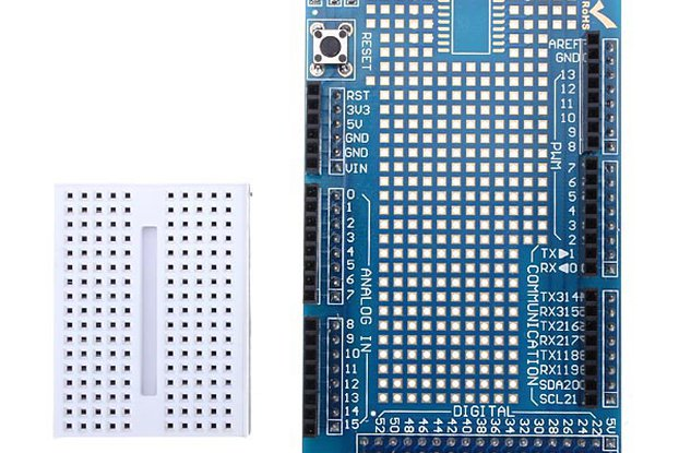 Proto Expansion Board With Breadboard