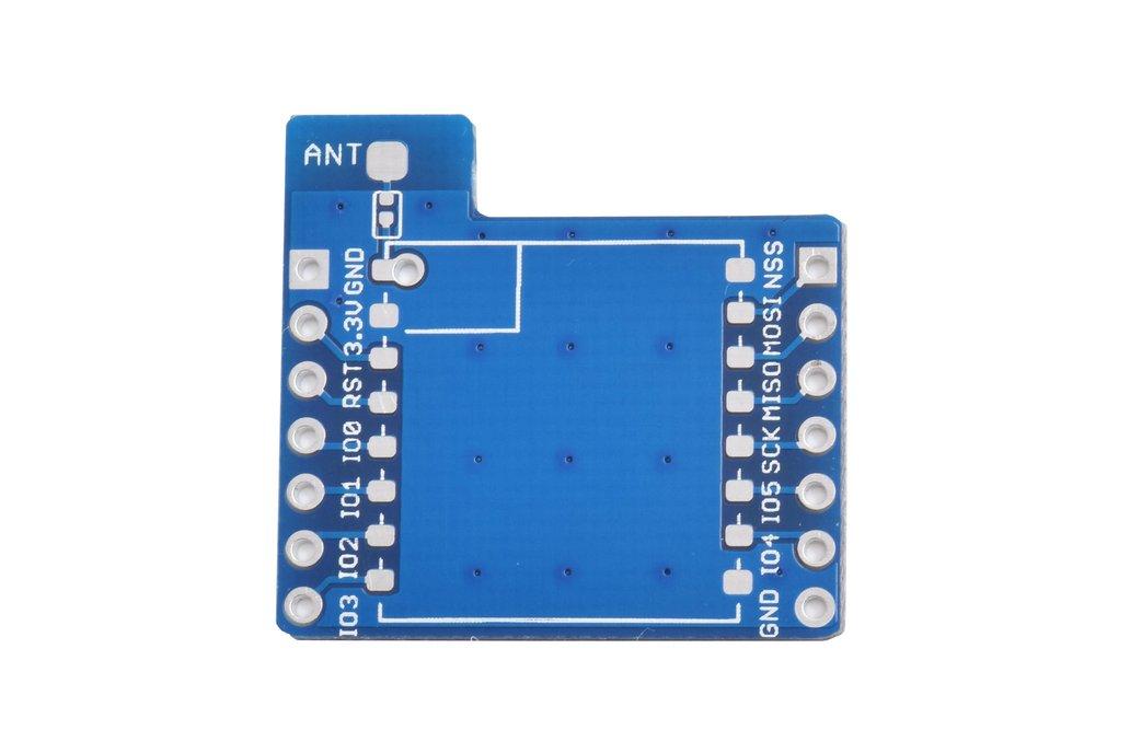 2pcs X LoRa module adapter breakout board 1