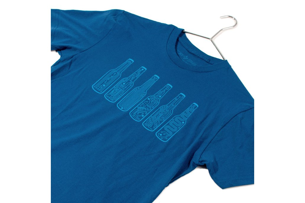 BAR CODE  - Mens Fashion Fitted Graphic T-shirt 3