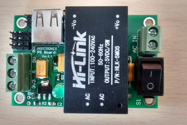 AC-DC 220V to 5V 3.3V/1A 5W Step-Down Power Supply