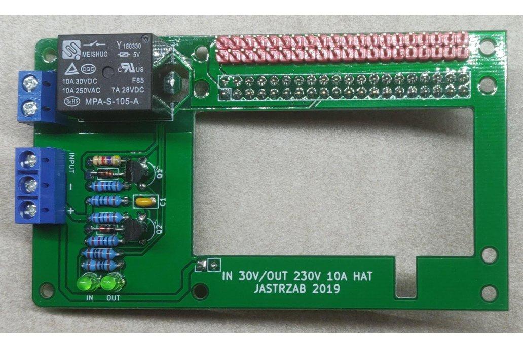 Raspberry PI Input/Output HAT 1