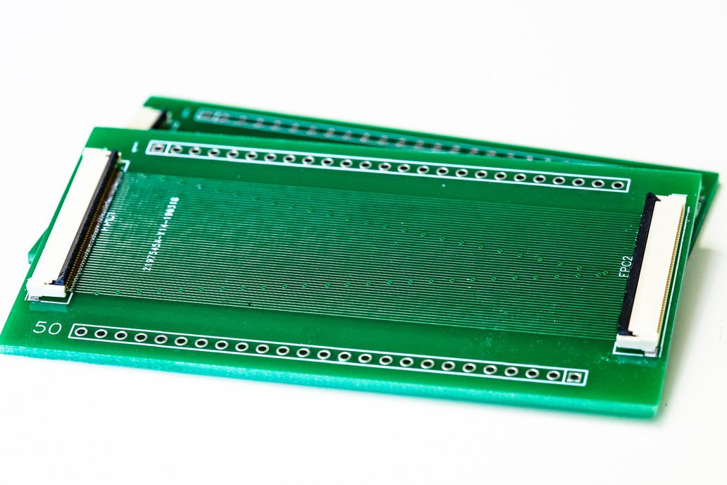 50 pin FPC passthrough breakout board 1