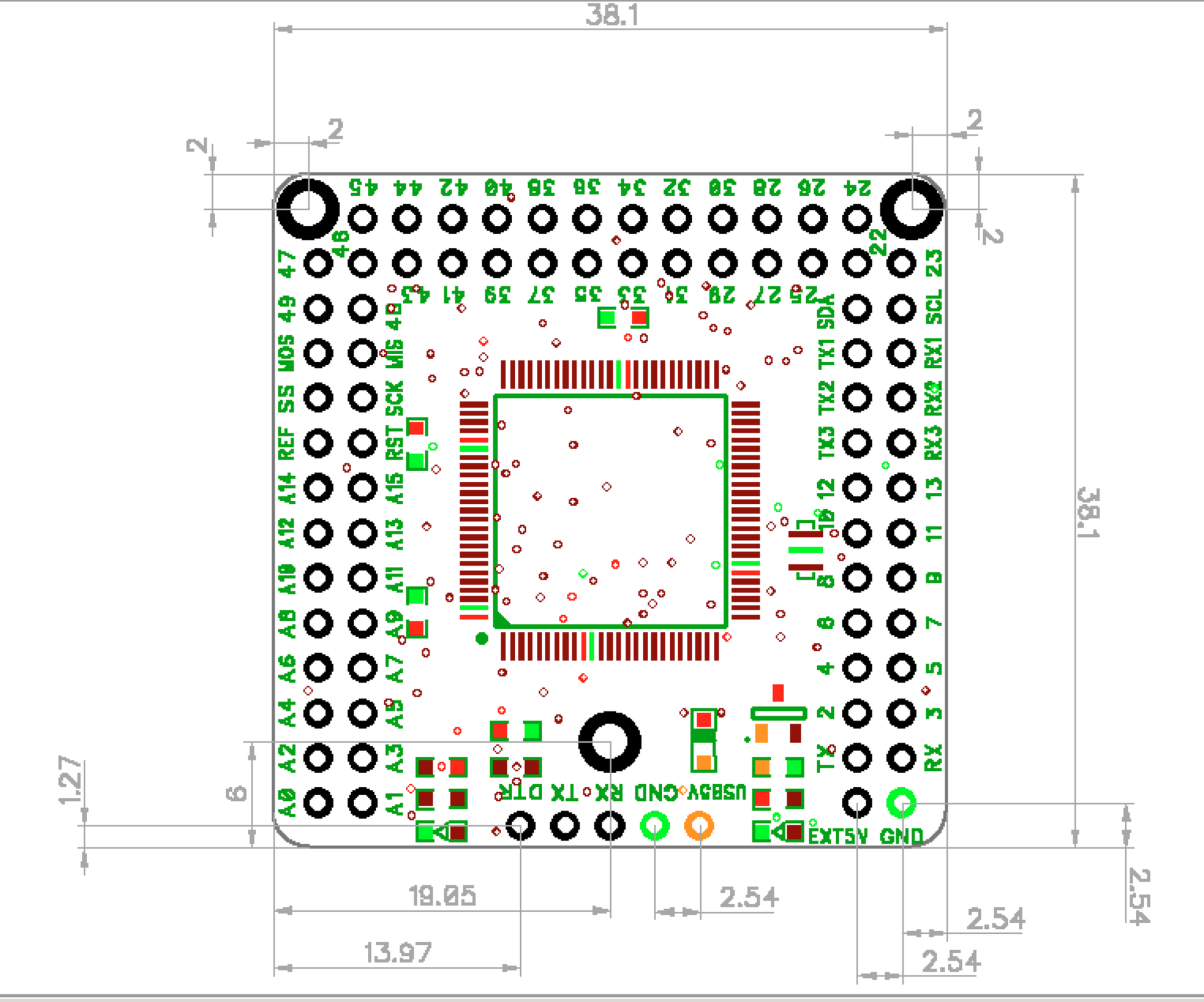 Mega, an Arduino Mega 2560 compatible board from FuzzyStudio ... on arduino microcontroller schematic, arduino mega 2560 pin mapping, arduino mega case, arduino mega specs, arduino mega 2560 datasheet, arduino mega 2560 programming, arduino schematic symbol, arduino speaker schematic, arduino r3 schematic, arduino mega 2560 led, arduino pro schematic, arduino mega adk, breadboard arduino schematic, arduino mega 2560 map, arduino uno schematic, arduino ethernet schematic, arduino nano schematic, arduino mega size, arduino mega 2560 board, arduino mega layout,