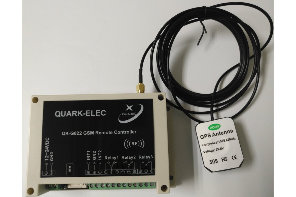 QK-G022G GSM SMS Remote control with GPS receiver 2