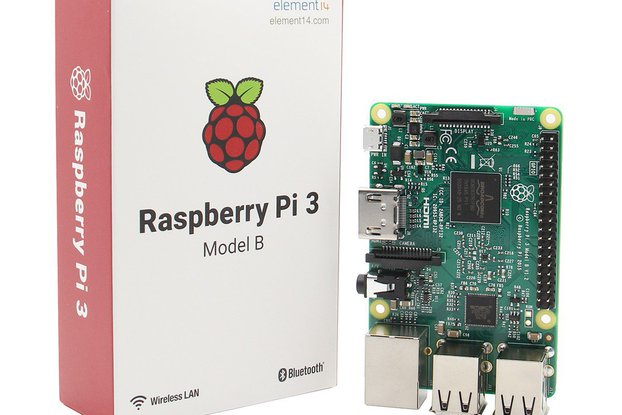 3 In 1 Raspberry Pi 3 Model B Board