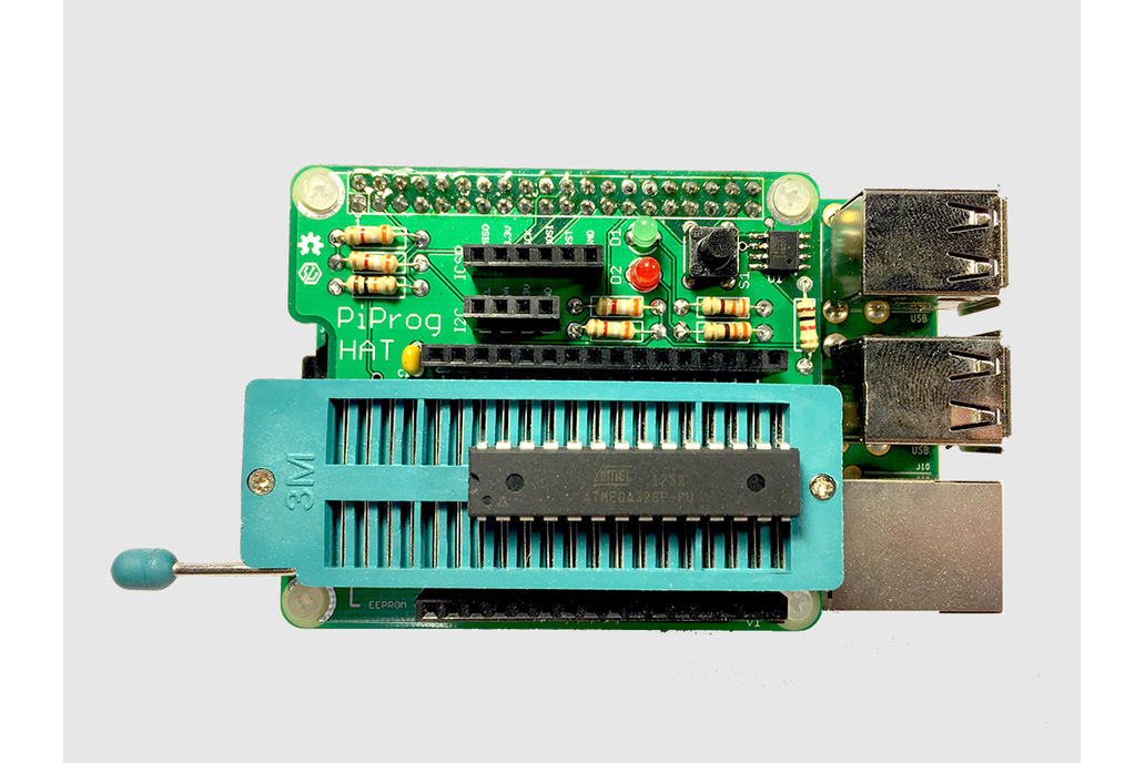 PiProg - Raspberry Pi EEPROM and ICSP Programmer from