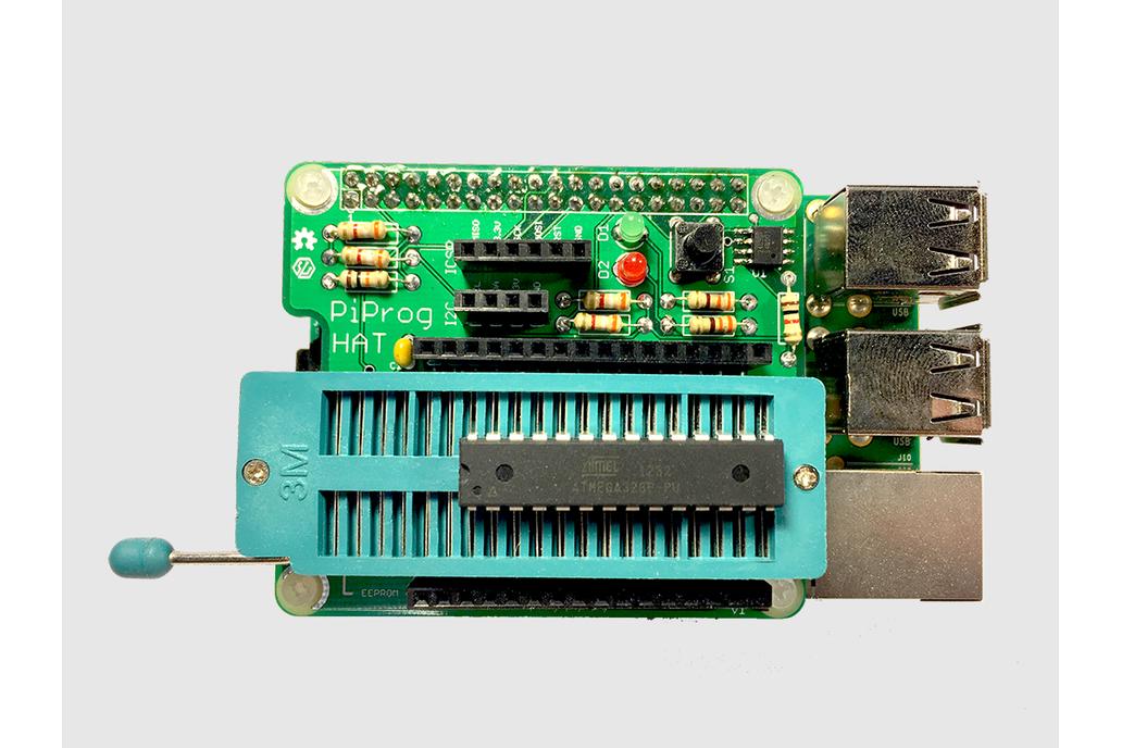 PiProg - Raspberry Pi EEPROM and ICSP Programmer 1