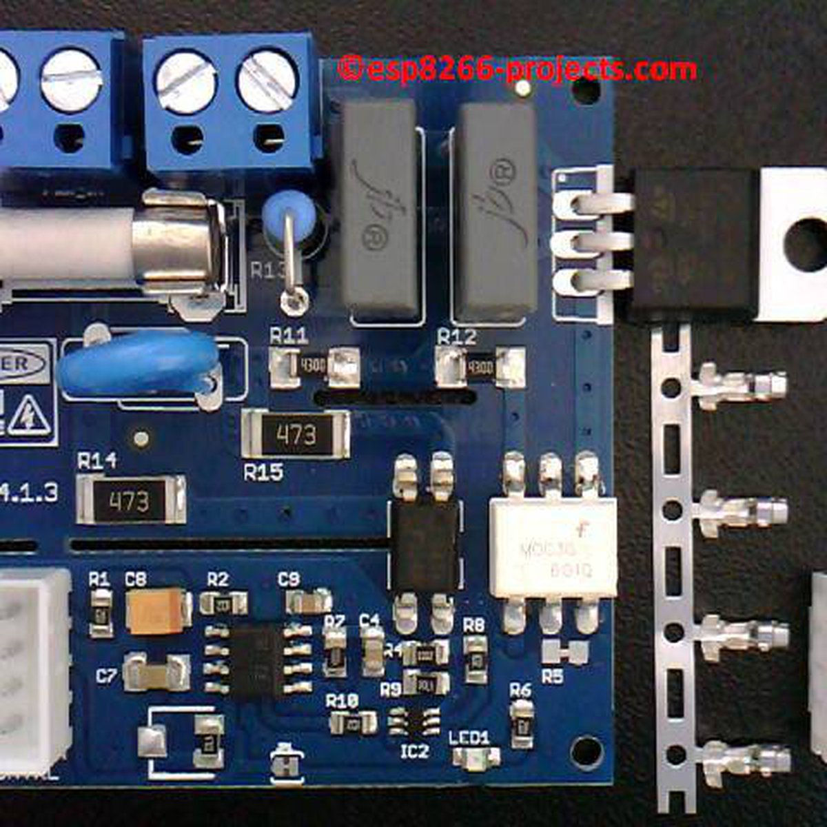 Universal Ac Mains Dimmer Mpdmv41 From Nextevo On Tindie How To Build Triac Light