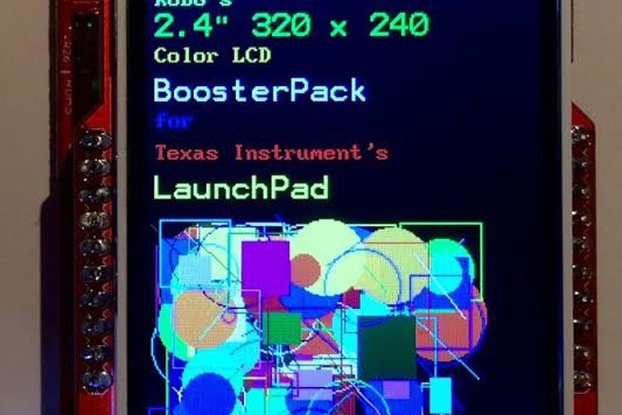 "Color LCD Booster Pack 2.4"" 320x240"
