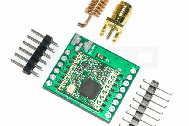 HopeRF RFM9x LoRa Basic Breakout Board