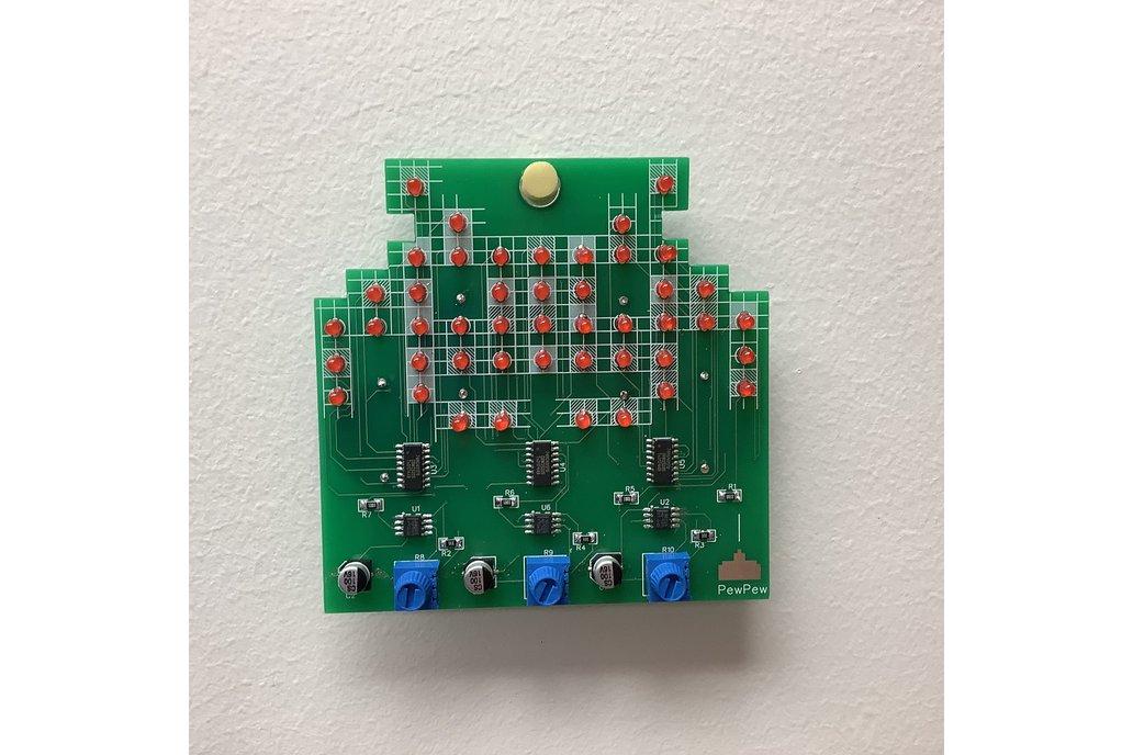Sparkle Invader 1