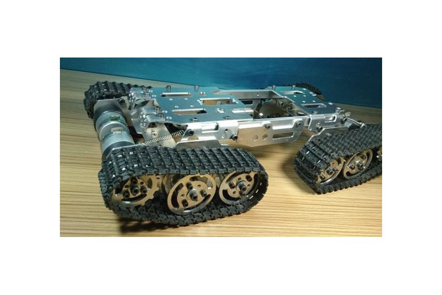 Obstacle Avoidance barrowland  Tank Chassis