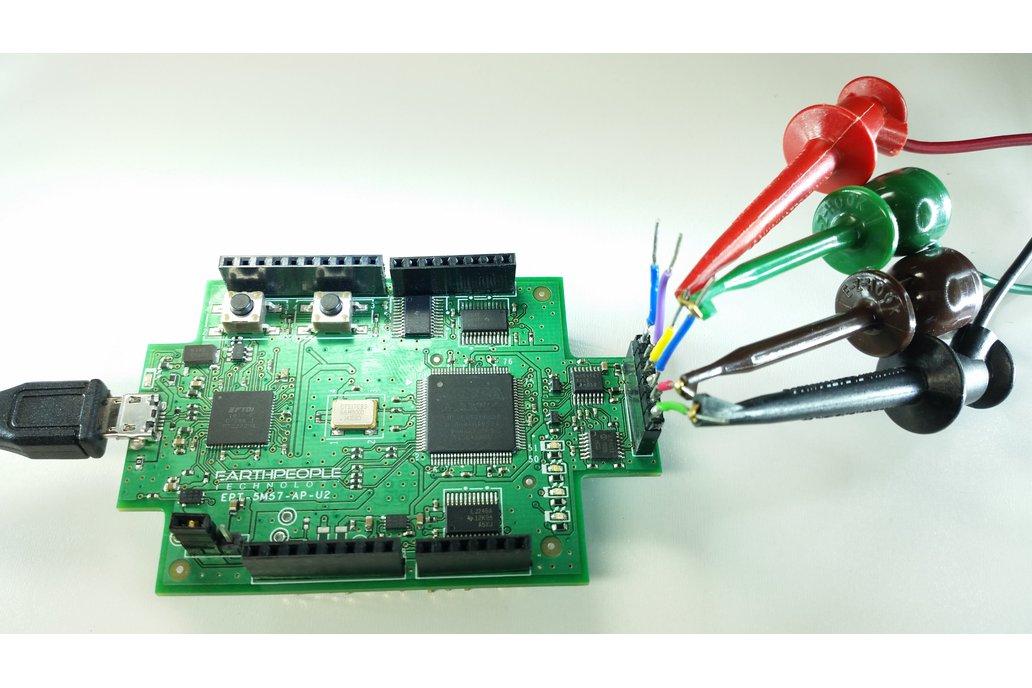 Arduino Oscilloscope 4Channel 30KHz - UnoProLyzer 1