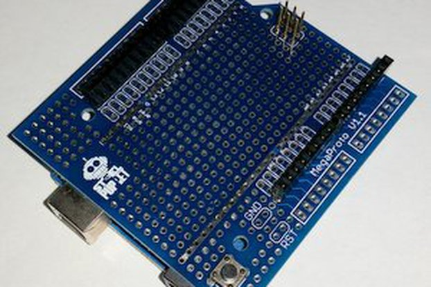 Proto-Shield, Master board, Header kit