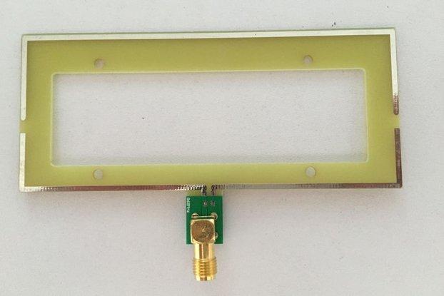 PCB Moxon Antenna 868Mhz