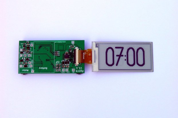 Agora watch/clock PCB with display