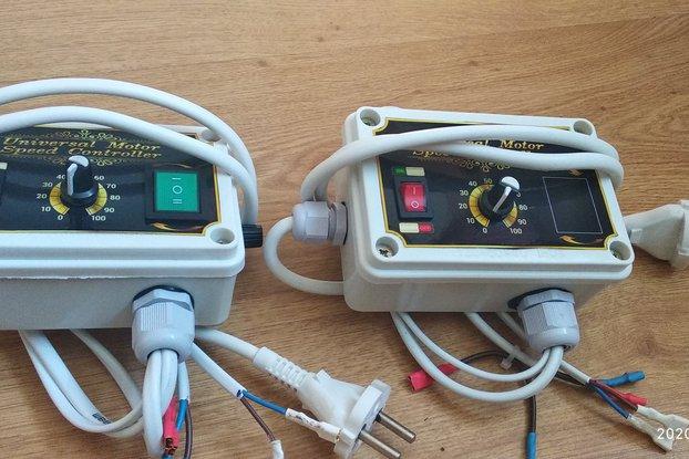 Brush motor speed regulator based on tda 1085