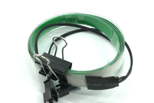 Electroluminescent (EL) Tape Strip green - 100cm