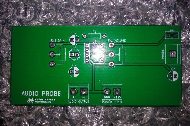 Arcade audio probe (blank board)