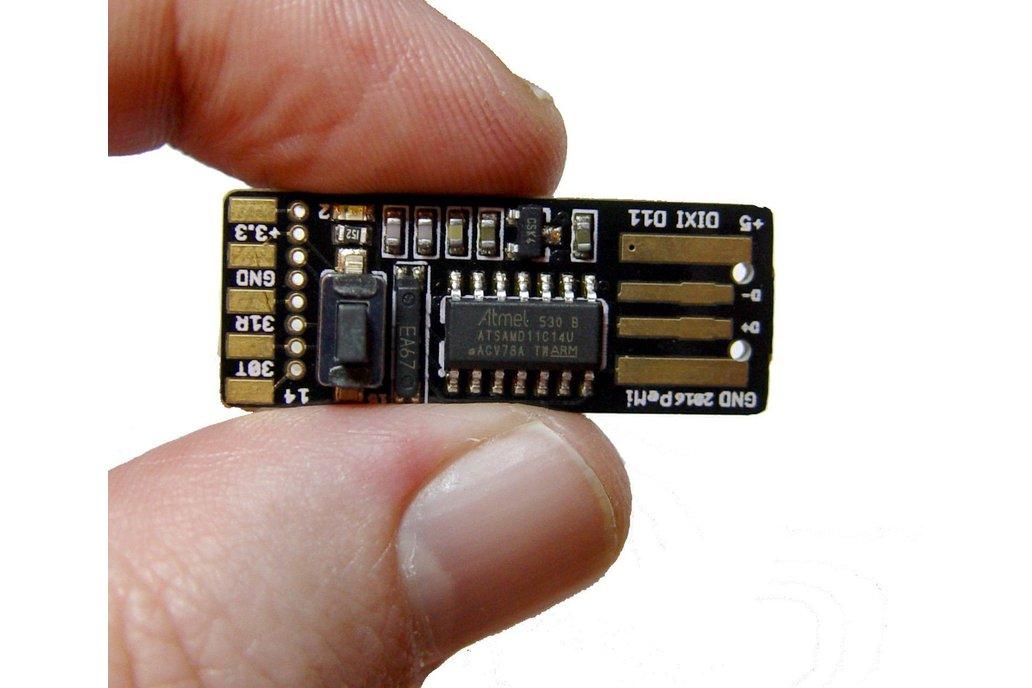 DiXi - arduino sam D11 usb stick 7