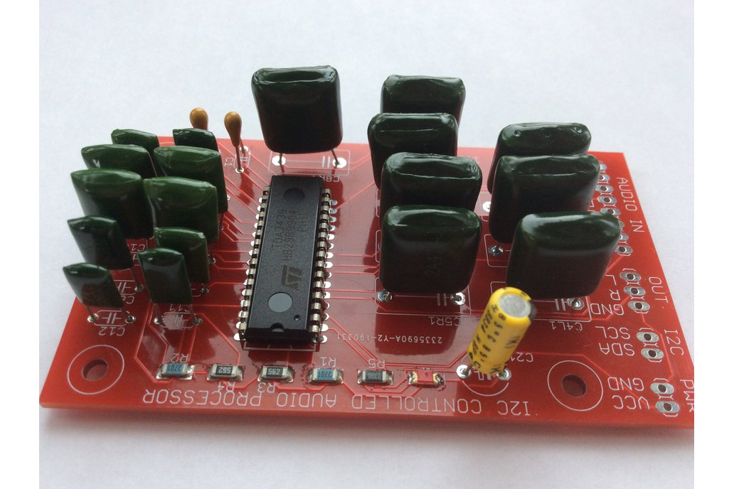 Three-band I2C-controlled audio processor V2 1