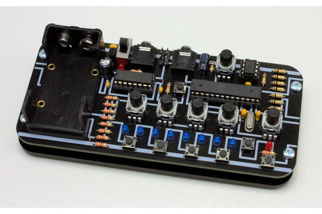 LUNCHBEAT - 1-bit groovebox DIY KIT 1