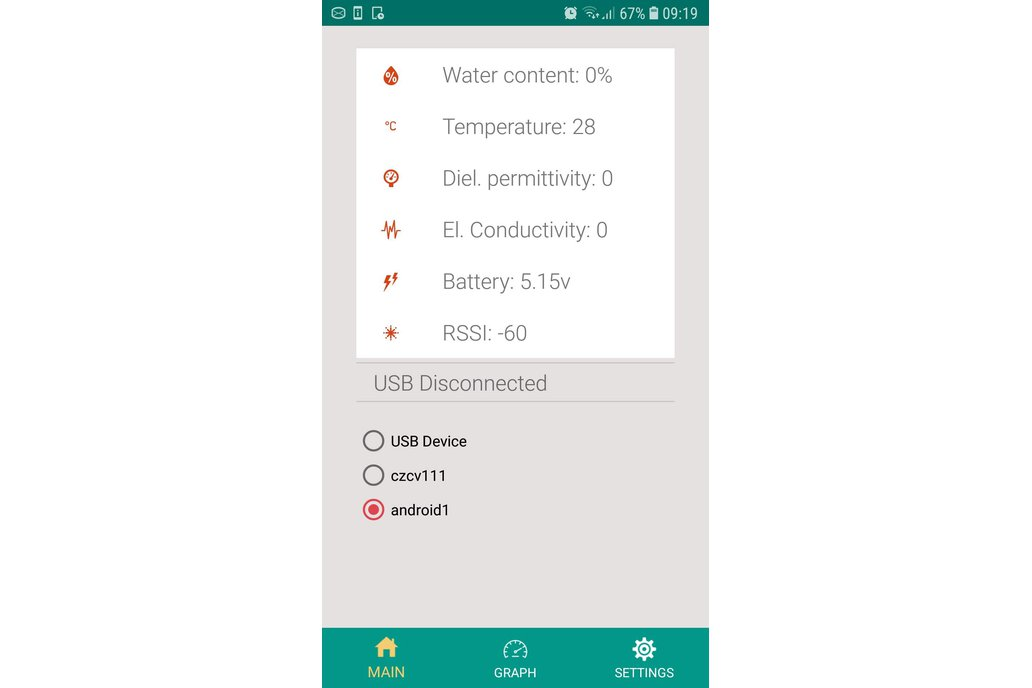 LoRaWAN Soil Moisture, Temperature sesnsor 2