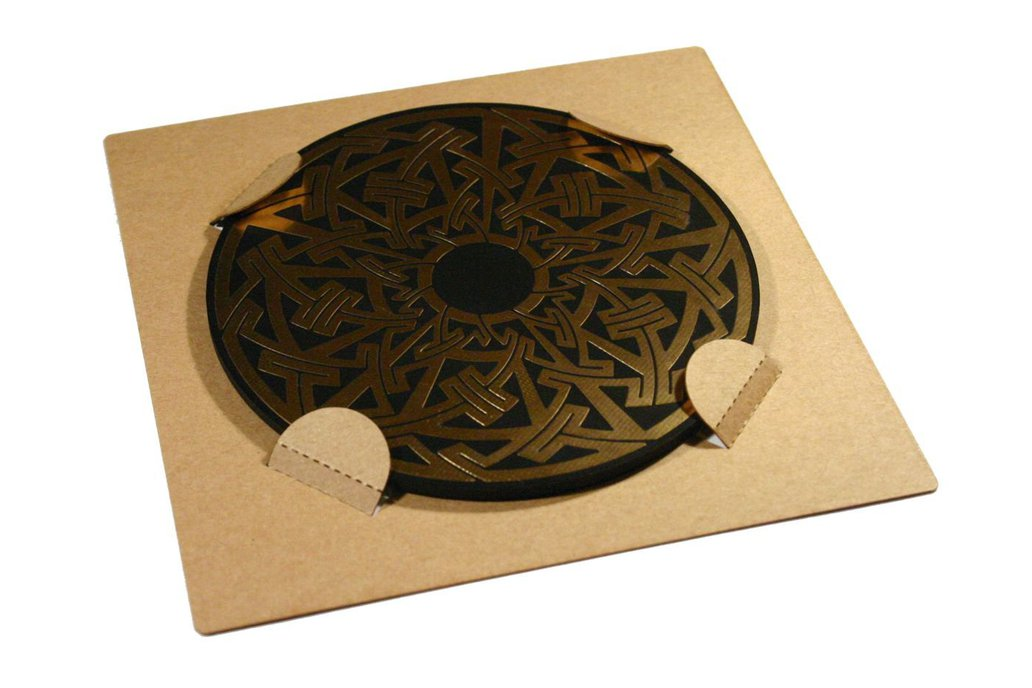 Celtic/Pictish circuit board drinks coasters 3