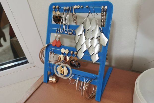 Earring Holder 3D Printed