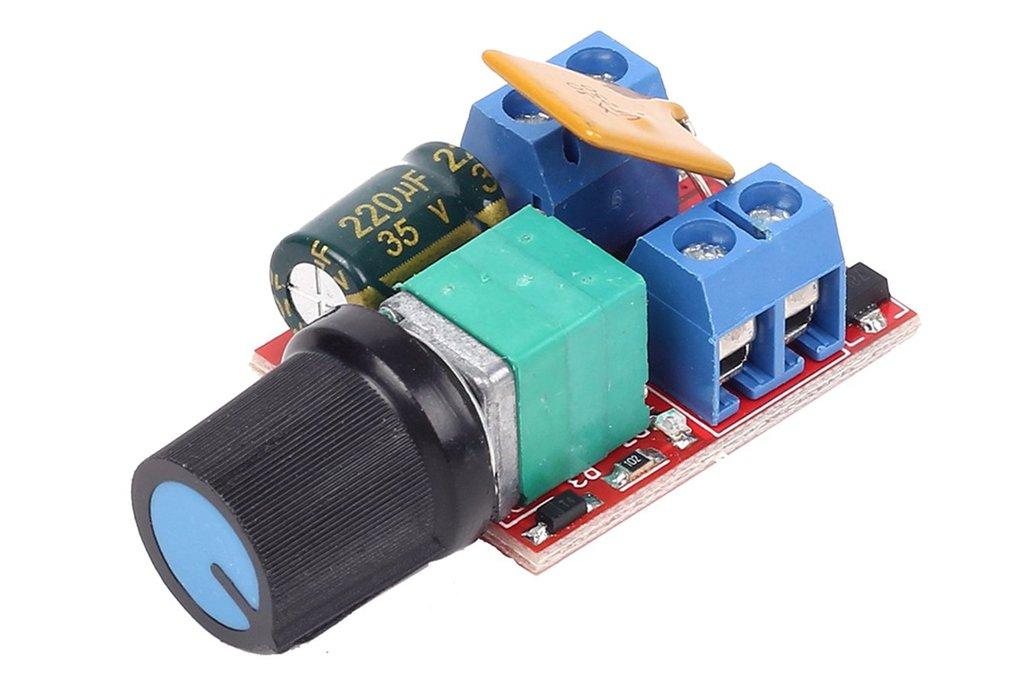 Mini DC 5A Motor PWM Speed Controller Module(13317 1