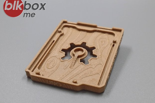 Arduino UNO Exclusive Protective Base (Wood)