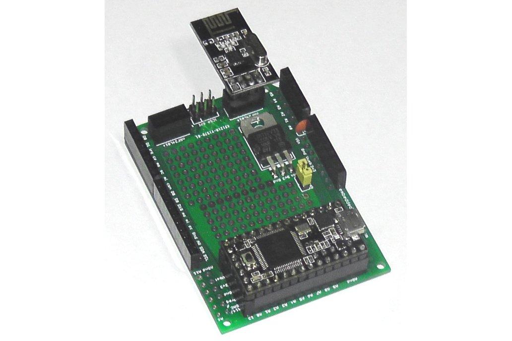 Teensy 3/LC Proto board, Arduino Shield, nRF24L01+ 1