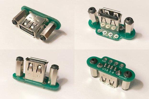Panel-Mount USB Jacks