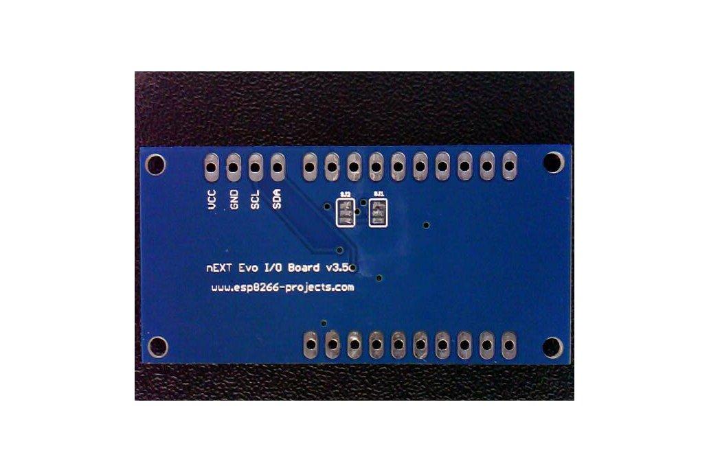 16 GPIO lines extension board, Arduino, ESP8266 2