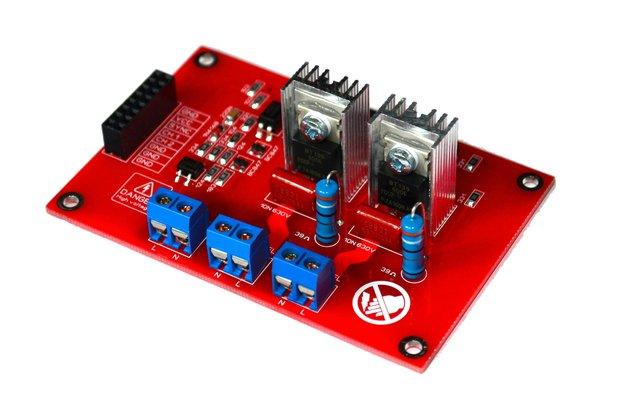 2CH AC Dimmer Module Controller Board V2.0
