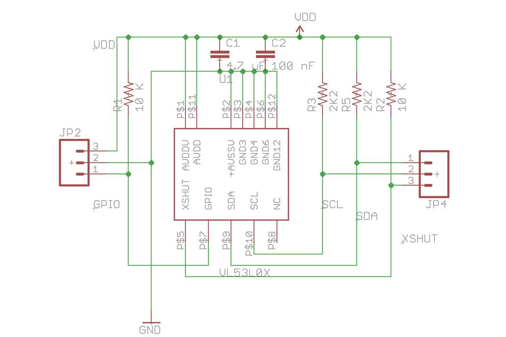 VL53L0X Time-of-Flight Ranging Sensor 4