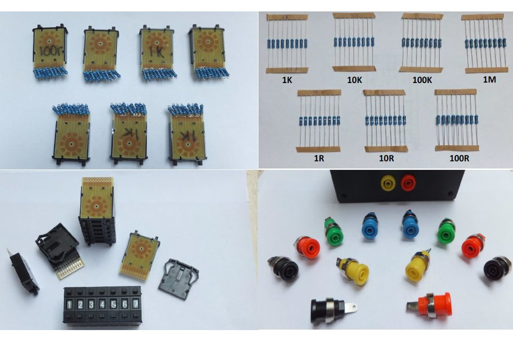 Resistance Decade Substitution  Box Kit 1
