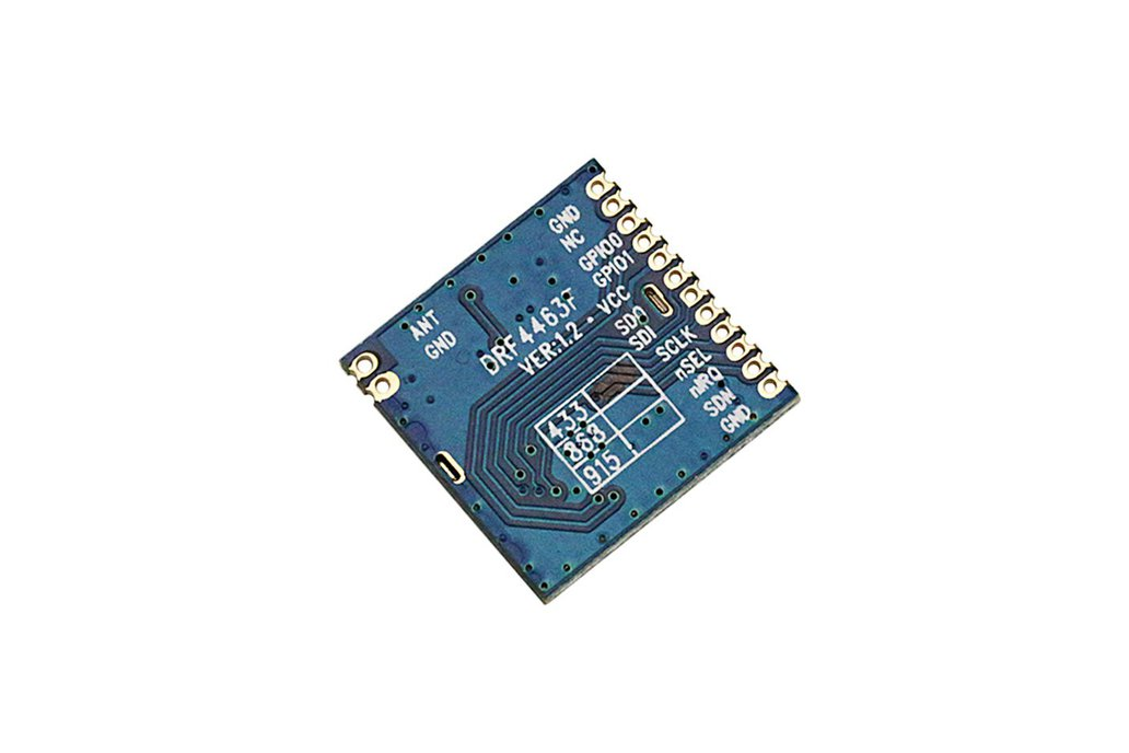 868Mhz 915Mhz wireless RF si4463  module  DRF4463F 1