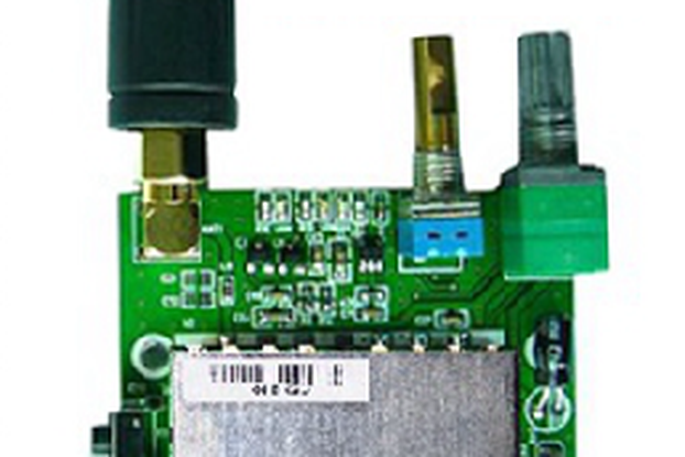 FRS_DEMO_B demo board (for 2W  UHF module)