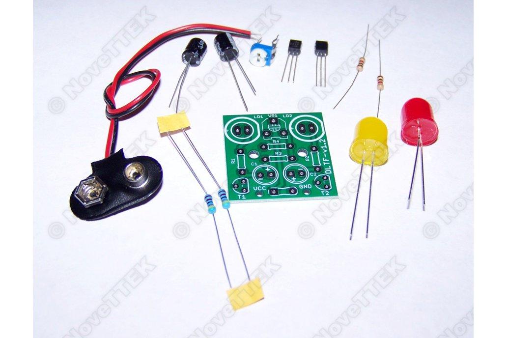 2x Pack Dual JUMBO LED Adjustable Flasher Kits 1
