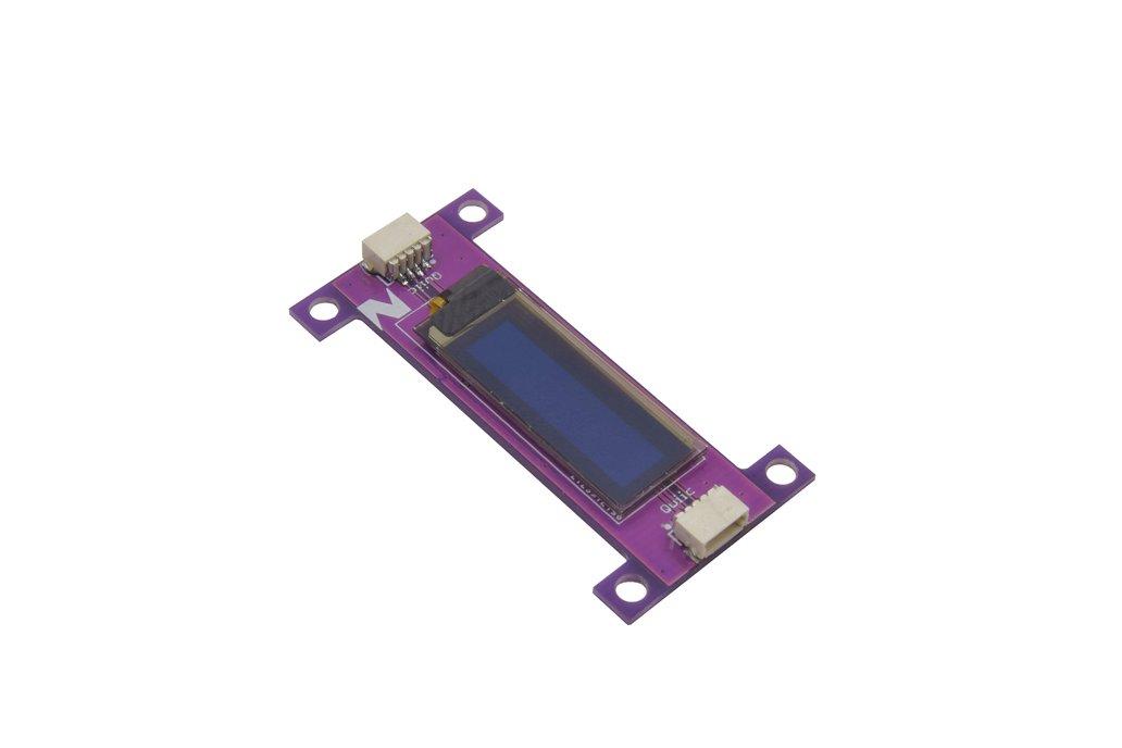 Zio OLED Display (0.91 in, 128x32, Qwiic) 1